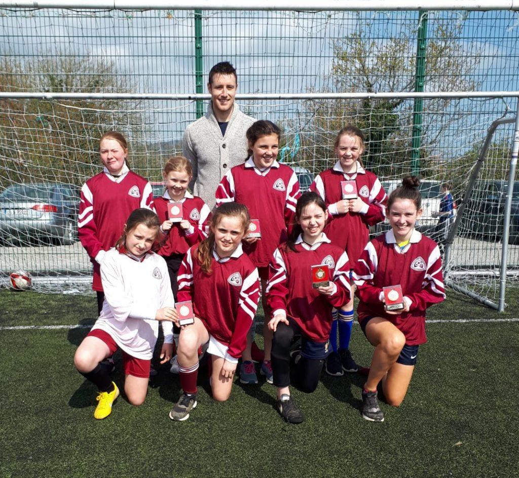 """Coolfancy National School - County Wicklow FAI School """"A"""" Winners"""