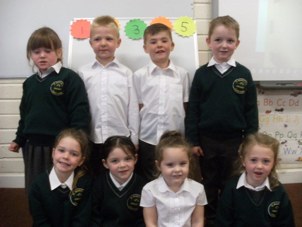 This is our Junior Infants class of 2019-2020